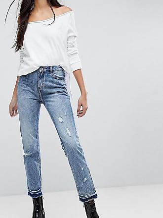 Hose mit weitem Beinschnitt und Paperbag-Taille - Schwarz Missguided Tall bvENA2l