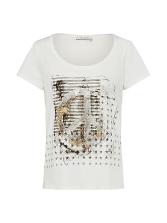 T-Shirt taupe / naturweiß Monari fJn4hBKf