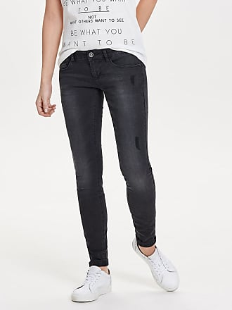 Coral Sl Skinny Fit Jeans Dames Zwart Only 4SUyuqTKF