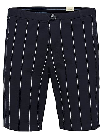 Print Shorts Dames White Selected FOwE7Bv