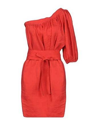 Kurzes Kleid aus flieendem Stoff mit Pünktchenmuster Vanessa Bruno 8Bkiu71