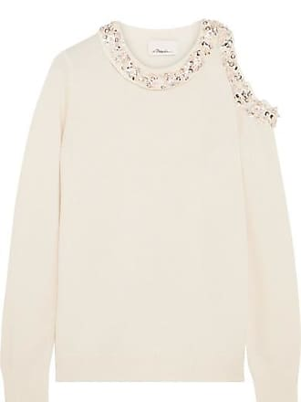 embellished cold shoulder jumper - Nude & Neutrals 3.1 Phillip Lim