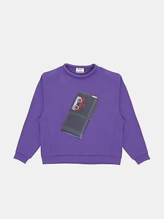 Sweatshirt Flames Capsule Schwarz - 100% Baumwolle Acne Studios