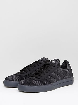Womens Shoes On Sale, Courtvantage Polygone, Black, Leather, 2017, USA 6 UK 4 5 EU 37 JAPAN 230 adidas
