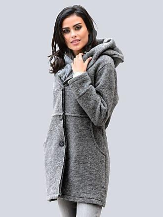 Mantel Alba Moda stein/grau Alba Moda