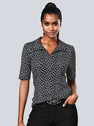Shirt Alba Moda schwarz/weiß Alba Moda