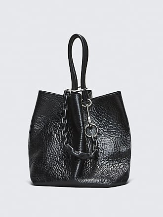 Genesis Mini Hobo Tasche in Washed Denimfarben aus Kalbsleder Alexander Wang