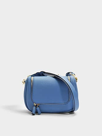 Anya Hindmarch Besace Soft Vere en Cuir Grainé Steam