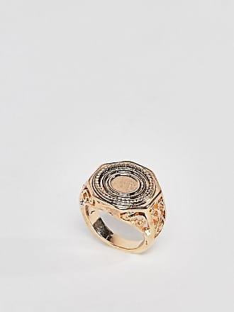 Gold Zodiac Virgo Sovereign Ring Pretty Little Thing