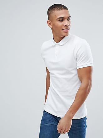 Longline Muscle Fit Polo Shirt With Contrast Raglan In Beige - Noodle/ mudstone Asos
