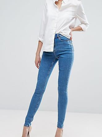 ASOS DESIGN Tall - Egerton - Schlag-Jeans aus Rigid Denim im kurzen Schnitt mit offenem Saum, verwaschenes Schwarz - Schwarz Asos Tall