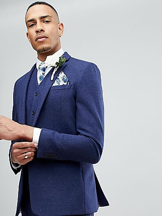 WEDDING - Blazer ajusté 100% laine mérinos - Bordeaux - RougeAsos