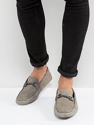 OXO - Scarpe stile mocassino con suola spessa - Nero Asos