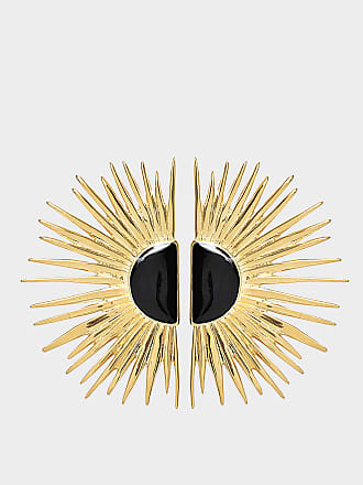 Aurélie Bidermann Duchesse pin earrings with enamel