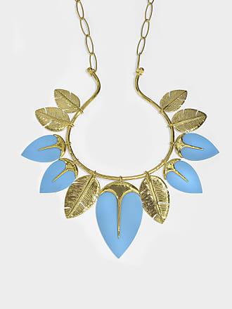 Aurélie Bidermann Squaw Necklace in 18K Gold-Plated Brass