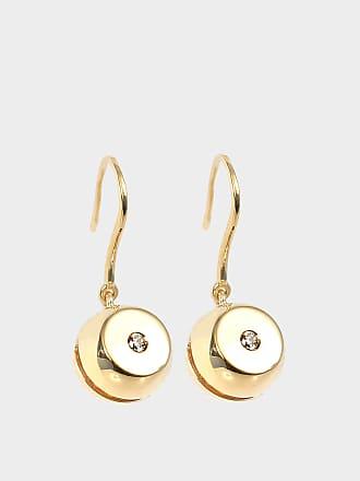 Aurélie Bidermann Telemaque mono-earring 750/1000th Yellow Gold with diamonds