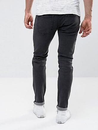 PLUS Axel Slim Jeans In Black - 099 black Replika 03PY