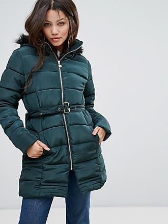 Marsell - Wattierter Mantel im Retro-Look mit Farbblockdesign - Navy Brave Soul