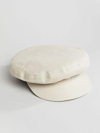 Baker Boy Hat in White Cord - 00713 white Brixton