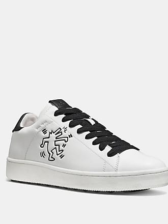 Sneakers - Low Top Sneaker Spooky Eye Black Multi/Ice Purple - black - Sneakers for ladies Coach