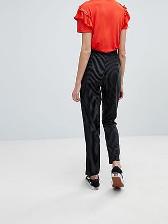 Daisy Street Pantalones de pinzas con estampado de leopardo de Daisy Street