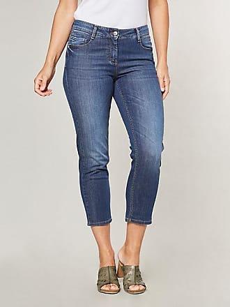 Damen Bootcut-Jeans Dena Blau - auch in Übergrößen Deerberg