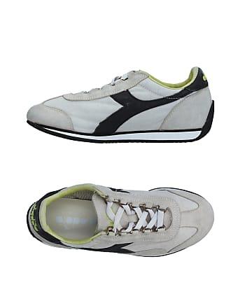 Diadora Heritage, Uomo, Equipe Nyl Stone Wash Waxed, Suede / Nylon, Sneakers, Verde, 45 EU