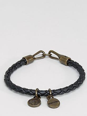 Diesel Bracelet for Men On Sale, Line Roar, Light Brown, Cow Leather, 2017, One Size