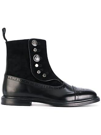 Dolce & Gabbana Black Ikon 18 Boots