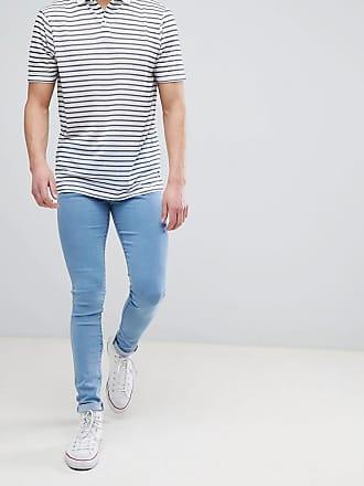 Meadow - Schmale Jeans mit kurzem Schnitt - Blau Dr. Denim