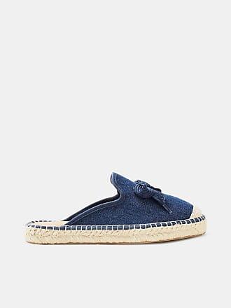 Esprit Fein schimmernder Sneaker zum Schnüren für Damen, Größe 37, Navy