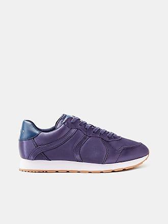 Esprit ESPRIT Plateau-Sneaker mit floralem Allover-Print, blau, NAVY