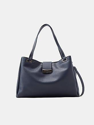 Zeitloser Shopper in Leder-Optik für Damen Black Esprit