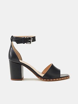 Esprit Trendige Sandalette mit Nieten-Dekor für Damen, Größe 36, Black