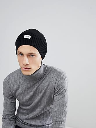 Slouchy Cable Knit Beanie In Black - 001 black Esprit