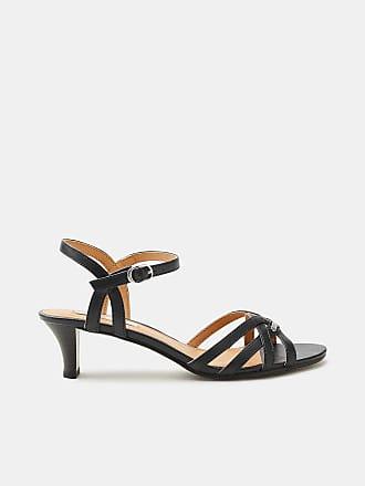 Esprit Sandalette mit funkelndem Glitter für Damen, Größe 38, Silver