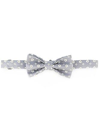 print bow tie - White Fefē
