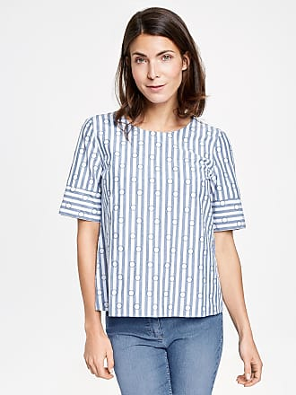 Top with knotted detail white female Gerry Weber