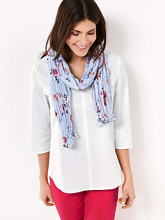 Scarf with a mixed pattern ecru-beige female Gerry Weber