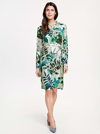 Sheath dress with an all-over pattern ecru-beige female Gerry Weber
