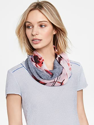 Scarf with colour blocking purple-pink female Gerry Weber