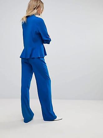 Taillierte Hose - Blau Gestuz