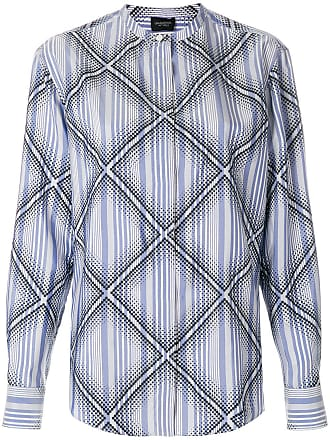 diamond pattern shirt - Pink & Purple Giambattista Valli
