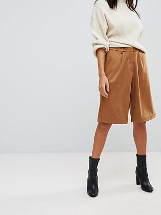 Faux Suede Culottes - Tan Glamorous