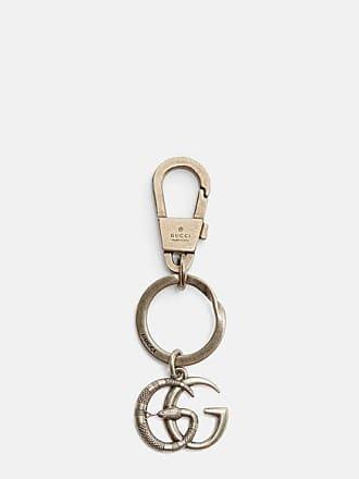 Gucci Mens GG Supreme Rocket Key Chain