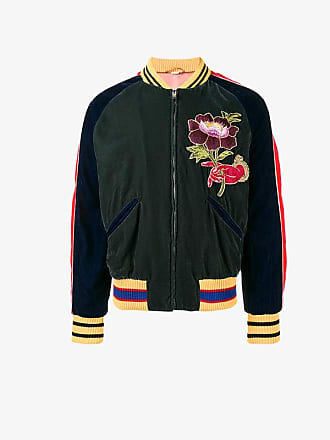 ... Gucci bird embroidered bomber jacket