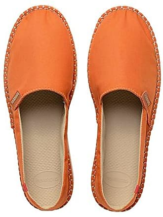 4137014 - Espadrilles - Mixte Adulte - Multicolore Orange (Orange Tile) - 45 EU (43 Brazilian)Havaianas