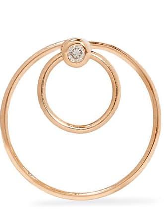 Floating 9-karat Gold Hoop Earring - one size Hirotaka