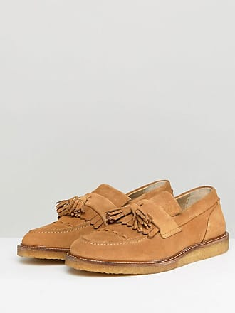 House Of Hounds Bully Suede Loafers - Tan House Of Hounds