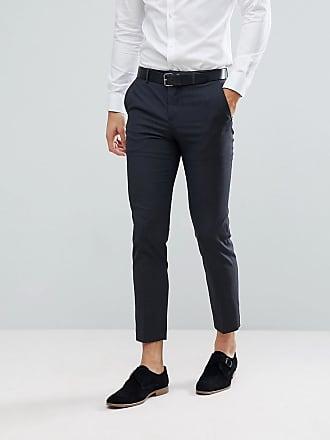 PREMIUM Mens Jjroy Trousers Black Noos Straight Trousers Jack & Jones